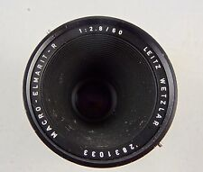 Leica/ Leitz  Macro/ close up elmarit R f 2.8 50mm