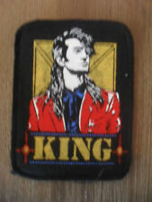King muziek patch Sew On