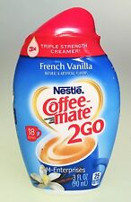 Nestle Coffee Mate To Go French Vanilla Creamer 3 oz