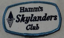 old HAMM's BEER SKYLANDER CLUB cloth Jacket Patch