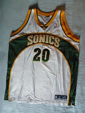 Reebol Authentic Vintage Gary Payton Seattle SuperSonics Super Sonics jersey 52