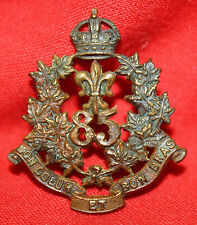 OFFICER'S 85th REGIMENT Collar Badge-Scully MM.231a. Post 1904 Canadian Militia