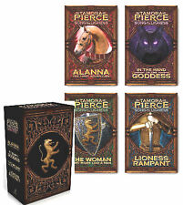 Song of the Lioness Box Set 1-4 Alanna; Hand of the Goddess + Tamora Pierce NEW