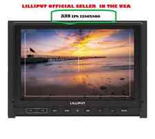"LILLIPUT 7"" 339 IPS 1280x800 HDMI input AV in&out on Camera-top Built in Battery"