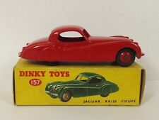 Dinky Toys 157 Jaguar XK120 Coupe (Red) Boxed 1954-57