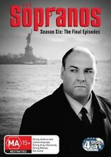 The Sopranos Season 6 - TheFinal Episodes - 4 Disc Set - DVD