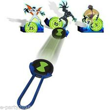 BEN 10 ALIEN FORCE  DISC LAUNCHER GAME ~ Party Supplies FAVORS