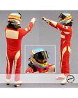1/24 ALONSO F10 DRIVER FIGURE VICTORY SIGN for REVELL
