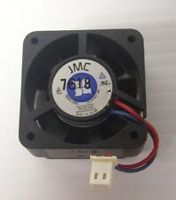 JMC BRUSHLESS DC 12V 0.06A 2 WIRE COOLING FAN A4122270-1 4020-12LS & 4 Hex Screw
