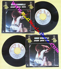 LP 45 7'' GINO VANNELLI People gotta move Son of a new york gun A&M no cd mc*dvd