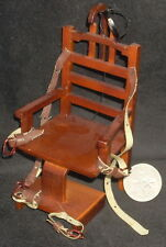 Electric Chair 'Old Sparky' 1:12 #P6630 Cowboy Western Justice Halloween Horror