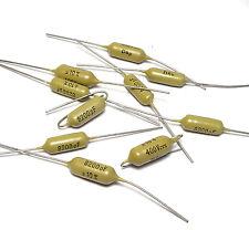 10x Mullard Mustard Kondensator 8.2 nF / 400V, Tone Capacitor f. Guitars & Amps