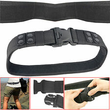 Army Police Security Guard Paramedic Men Utility Belt Quick Release Heavy Duty