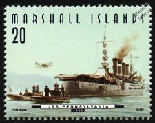 USS PENNSYLVANIA (ACR-4) (USS Pittsburgh) Armored Cruiser Warship Stamp (1997)
