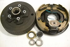 """1- 5x4.75 3500# Drum With 10"""" Right Hand Electric Backing Plate"""