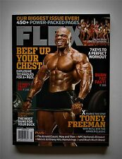 FLEX MAGAZINE TONEY FREEMAN & MR.OLYMPIA RONNIE COLEMAN THE CHEST WORKOUT