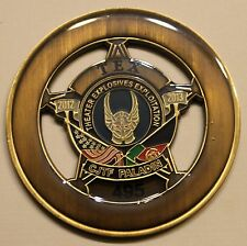 Explosive Ordnance Disposal EOD CJTF Paladin Serial #495 Military Challenge Coin