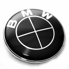 NEW BMW BLACK LINE REAR TRUNK BADGE  73mm E46,E82, M3  FREE UK  P&P
