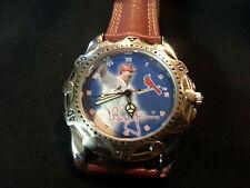 Home run hero Mark McGwire quartz watch, 1 jewl quartz movement