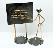 "Rock Creek Metal Craft Art...""THE MAN MUSIC TEACHER"".... Handmade in the USA"