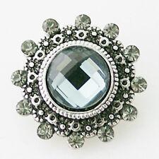 Button Click Druckknopf K8694 - Ornament - kompatibel mit Chunk Armband