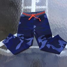 MINI BODEN Boy's Cool TRACK PANTS Navy Camo 4 years. AWESOME!! NEW!!