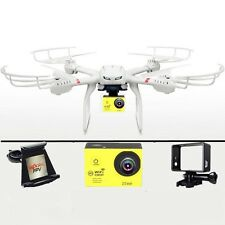 RC Drone MJX X101 FPV Quadcopter 12MP 1080P Real Time WiFi Camera Helicopter New