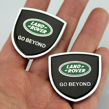 2pcs Shield Auto Car body Left Right Emblems Sticker Decal Badge fit for LR2 LR3