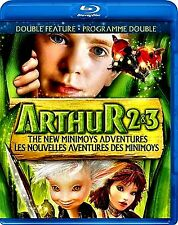 NEW BLU RAY // Arthur and the Invisibles 2 & 3 - CHILDREN'S