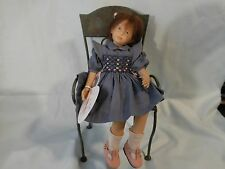 "HEIDI PLUSCZOK LIMITED EDITION 3/100 2003 PORCELAIN  DOLL ""TANJA"" SIGNED"