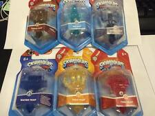 Skylanders trap team 6 pièges-le-feu, tech, air, terre, morts-vivants, eau-uk rapide