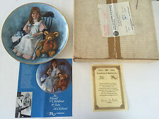 1979 You're Invited The World of Children Series McClelland 3rd Collector Plate