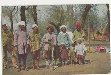 India, Kashmere Shooting Party Postcard, B213
