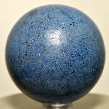 """2"""" Peruvian Dumortierite Sphere Rich Blue Natural Crystal Polished Mineral Stone"""