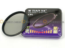 TIANYA 77mm 77 mm XS-Pro1 Glass Circular Polarizing C-PL PL-CIR Slim CPL Filter