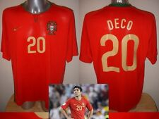 Portugal Deco Nike Camisa Jersey Football Soccer Xl Euro 2008 Barcelona Chelsea