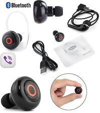 Universal Mini Bluetooth 4.1 Earphone Wireless earbud Earpiece Headset handsfree
