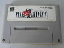 Super Famicom Final Fantasy VI FF 6 Japan SFC SNES F/S