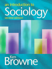 An Introduction to Sociology, Ken Browne Paperback Book