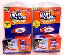 2x USB Win Cleaner One Click New Fast Easy Computer Repair & Protect as Seen TV