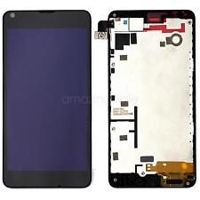Fr Nokia Lumia 640 LCD Display Screen Touch Screen Digitizer Assemby Frame Black