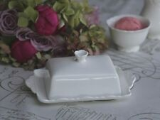 Chic Antique Butterdose Provence creme weiss