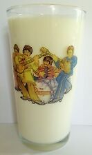 THE FAB FOUR Sgt. Pepper PINT SIZE BEER GLASS Paul McCartney, John Lennon