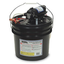 SHURFLO OIL CHANGE PUMP WITH 3 GALLON BUCKET