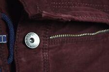 Gardeur DARK Red Cashmere  Touch 97% COTTON Stretch Jeans 38W X 30.25L  Nevio
