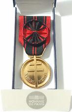 Médaille Ordonnance OFFICIER RÉSISTANCE Seconde 2°Guerre Mondiale 1939-1945