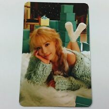 TTS 3rd Dear Santa Taeyeon Official Photocard 1p K-POP TAETISEO SNSD Green ver