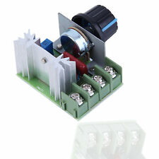 4000W AC 220V SCR Voltage Regulator Speed Controller Dimmer Thermostat LY