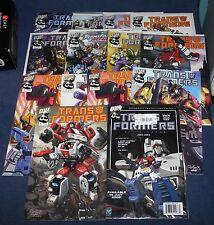 Lot of 15 Transformers Comics 2002 Dream Wave, Calendar April - Oct, Pat Lee