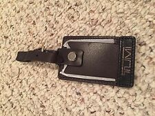 Tumi Leather Luggage Tag - Brand New